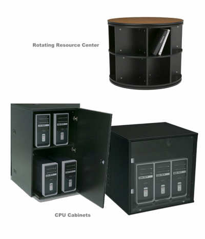 Furniture Add-ons to enhance and complement any control center, call center or dispatch center